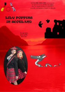 Affiche spectacle Lily Poppins in Scotland