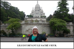 Globe Théâtre - Lili Potier à Paris - Le Sacré Coeur