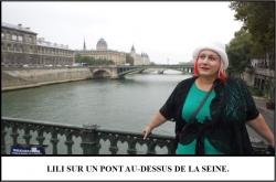 Globe Théâtre - Lili Potier à Paris - La Seine