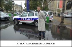 Globe Théâtre - Lili Potier à Paris - La police