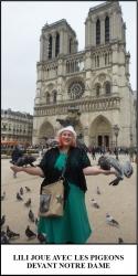 Globe Théâtre - Lili Potier à Paris - Notre Dame