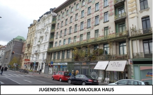 Lili Engen in Wien -Judendstil