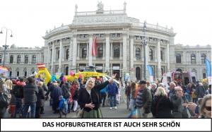 Lili Engen in Wien - Das Hofburgtheater