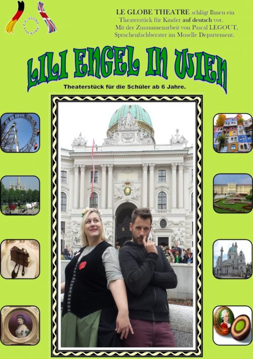Affiche Spectacle Lili Engel in Wien
