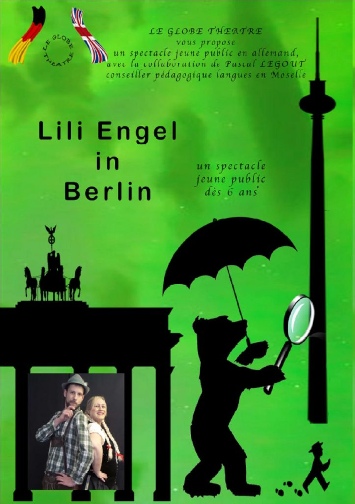 Affiche - Spectacle Lili Engel in Berlin