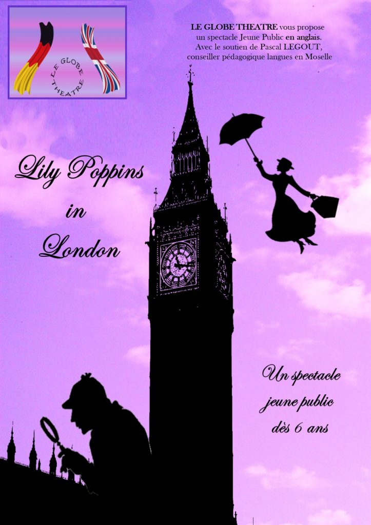 Affiche Lily Poppins in London - Spectacle enfants en anglais