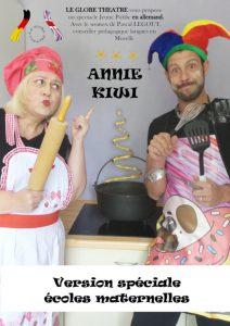 Spectacle pour enfant en allemand - Annie Kiwi