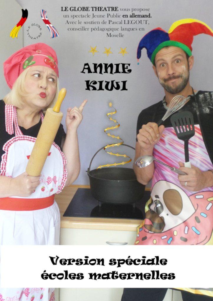 Annie Kiwi - spécial maternelles - Affiche