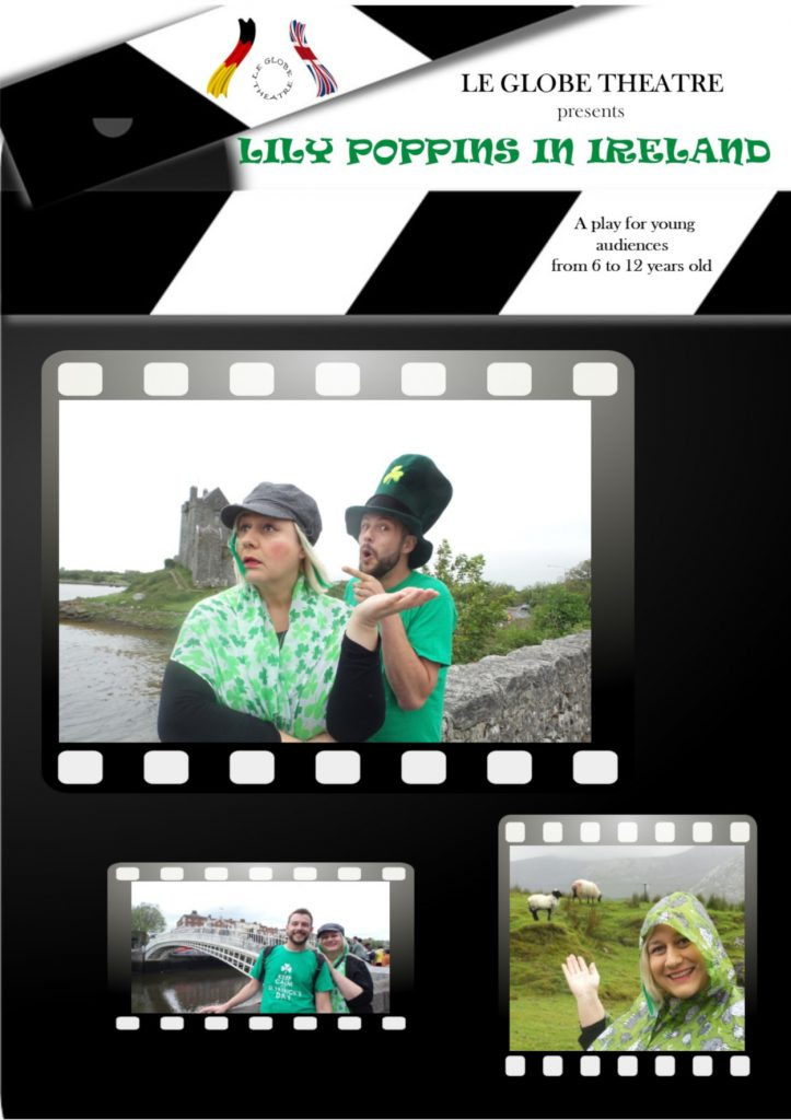 Lily Poppins in Ireland - Affiche