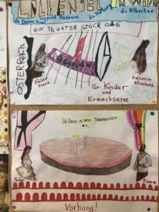 Globe Théâtre à l'école Elémentaire Verlaine d'Hagondange (mars 2019) - LILI ENGEL IN WIEN -