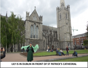 Globe Théâtre - Lily Poppins in Ireland - St Patrick's Cathedral in Dublin