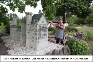 Globe Théâtre - Lili Engel im Saarland - Neuschwanstein in Gulliverwelt