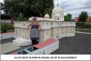 Globe Théâtre - Lili Engel im Saarland - Gulliverwelt