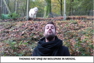 Globe Théâtre - Lili Engel im Saarland - Der Wolfspark in Merzig