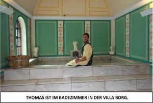 Globe Théâtre - Lili Engel im Saarland - Die Villa Borg