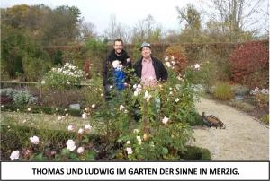 Globe Théâtre - Lili Engel im Saarland - Garten der Sinne in Merzig