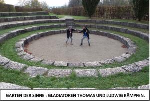 Globe Théâtre - Lili Engel im Saarland - Garten der Sinne - Gladiatoren