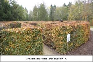 Globe Théâtre - Lili Engel im Saarland - Garten der Sinne - Der Labyrinth