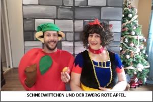 Globe Théâtre - Lili Engel im Saarland - Schneewittchen Werbung